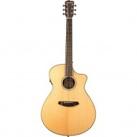 Breedlove Discovery Concerto Acoustic-Electric Guitar with Gig Bag Gloss Na