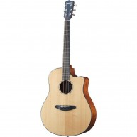 Breedlove Solo Dreadnought Full Size Solid Top Acoustic Electric Guitar wit