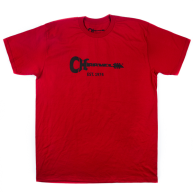 Charvel Guitar Logo Tee T-Shirt in Red - XXL - #0996827904