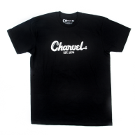 Charvel Guitars Toothpaste Logo Tee T-Shirt in Black -  Extra Large  #09987