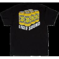 Charvel 6 Pack Of Sound Logo Tee Shirt Black XXL - #0996725904