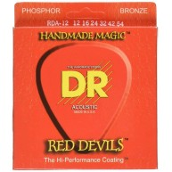 DR Strings Red Devils - Extra-Life Red Coated Electric Guitar Strings Size