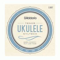 D'Addario EJ88T Nyltech Tenor Ukulele Strings, Gauges .025-.032-.038-.027