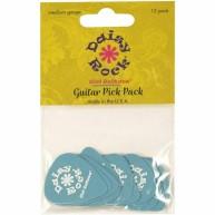 Daisy Rock Cotton Candy Blue Premium Picks-12 Pack Guitar Picks (DRP-6)