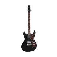 Danelectro Model 64XT-BLK The 1964 Electric Guitar, Gloss Black Finish - DE
