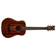 Dean Flight Series Mahogany 3/4 Size Travel Acoustic Guitar # FLY MAH