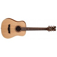 Dean Flight Steel String Spruce 3/4 Size Travel Acoustic Guitar w/Bag # FLY