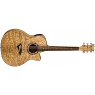 Dean EQA GN Exotica Quilt Ash Acoustic-Electric Guitar in a Gloss Natural F