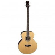 "Dean Natural Gloss Acoustic Electric 4-String Bass Guitar, 34"" Scale #EAB"