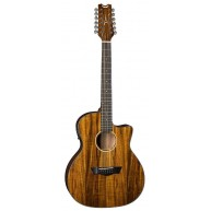 Dean AXcess Series AX E KOA 12 Koa Wood Acoustic Electric 12-String Guitar
