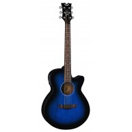 Dean Model AX PE BB Performer Blue Burst Acoustic Electric Cutaway Guitar