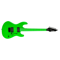 Dean CZONE NG Series Nuclear Green 80s Style Double Cutaway Electric Guitar