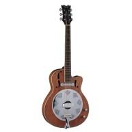 Dean Model RCE NM Natural Acoustic Electric Cutaway Style Resonator Guitar