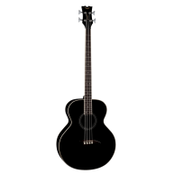 "Dean EAB CBK 4-String Acoustic-Electric Bass (Classic Black) 34"" Scale"