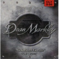 Dean Markley CL-7 Signature NickelSteel Electric Guitar Strings, 7 String,