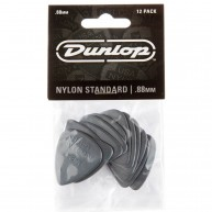 Dunlop 44P.88 Nylon Standard Gray .88mm Player Pack of 12 Guitar Picks