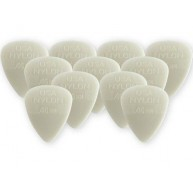 Dunlop 44P.46 Nylon Standard Gray .46mm Player Pack of 12 Guitar Picks