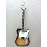 Effin Guitars Smelly/SB Gloss Sunburst Finish T-Style Electric solid body G