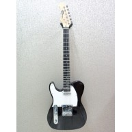 Effin Guitars Smelly/BK/L Left Handed T-Style Gloss Black Finish Electric G