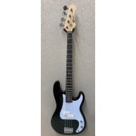 Effin Guitars Model EPB/BK Precision Vintage Bass 4-String Electric Bass Gu
