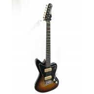 Effin Guitars JZM/SB Gloss Sunburst Vintage Jazz Style Master Electric Guit