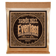 Ernie Ball #2544 Everlast Coated Phos Bronze Acoustic Guitar Strings .013-.