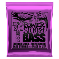 Ernie Ball #2831 Power Slinky Roundwound Bass Strings Custom Gauge .055-.11