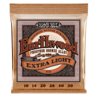 Ernie Ball #2150 Earthwood X Light Phos Bronze Acoustic Guitar Strings .010