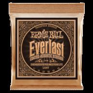 Ernie Ball #2548 Everlast Coated Phos Bronze Acoustic Guitar Strings .011-.