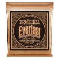 Ernie Ball #2550 Everlast Coated Phos Bronze Acoustic Guitar Strings .010-.