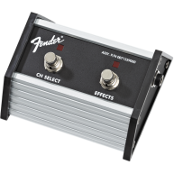 "Fender 2-Button Footswitch: Channel Select / Effects On/Off with 1/4"" Jac"