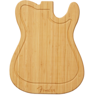 Genuine Fender Telecaster Bamboo Wood Cutting Board # 0094033000