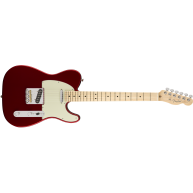Fender American Professional Telecaster Guitar Maple Neck Candy Apple Red w