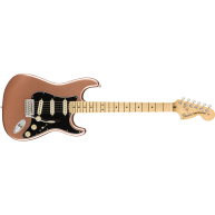 Fender American Performer Stratocaster Guitar w/Bag, Copper Penny Finish -