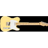 Fender American Performer Telecaster Electric Guitar, Vintage White, w/Gig