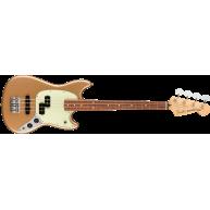 Fender Player Series Mustang Bass PJ  Pau Ferro Fingerboard, Firemist Gold