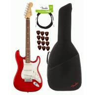 Fender Player Stratocaster Electric Guitar Sonic Red Finish MIM - Player Bu