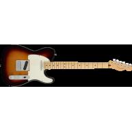 Fender Player Series Telecaster in 3 Color Sunburst Finish, Maple Neck - MI
