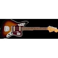 Fender Vintera '60s Jaguar®, Pau Ferro Fingerboard, 3-Color Sunburst - MIM