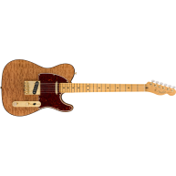 Fender USA Rarities Red Mahogany Top Telecaster®, Maple Neck, Natural