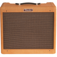 "Fender Blues Junior 15 Watt Lacquered Tweed 1x12"" Tube Guitar Combo Amplifi"