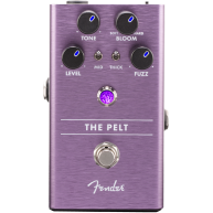 Genuine Fender The Pelt Fuzz Pedal , Solid Aluminum Stomp Box #0234542000