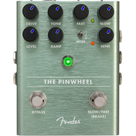 Fender The Pinwheel Rotary Emulator Pedal , Solid Aluminum Stomp Box #02345
