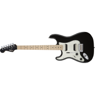 Fender Squier Contemporary Stratocaster HH, Black Metallic Left-Handed Guit