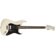 Fender Squier Contemporary Stratocaster HSS Pearl White Guitar,Maple Finger