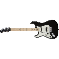 Fender Squier Contemporary Stratocaster HH, Left-Handed Guitar in Black Met