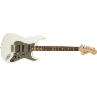 Fender Squier Affinity HSS Stratocaster Electric Guitar in Olympic White Fi