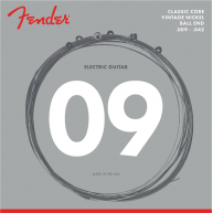 Fender Classic Core Electric Guitar Strings, 155L, Vintage Nickel,  .009-.0