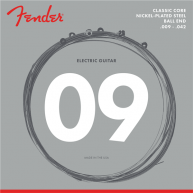 Fender Classic Core Electric Guitar Strings, 255L, Nickel-Plated Steel .009