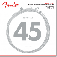 Fender 7250ML Nickel Plated Steel Long Scale Bass Strings Gauges .045 -.100